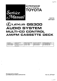 pioneer kex m9136zt service manual immediate download