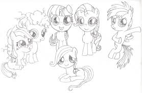 100 my little pony coloring pages fluttershy filly my