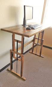 Chairs For Standing Desks Best 25 Diy Standing Desk Ideas On Pinterest Desks With Regard