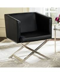Faux Leather Accent Chair Shopping Is Here Get This Deal On Safavieh Faux