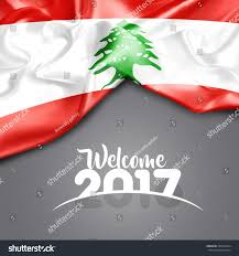 What Tree Is On The Lebanese Flag Welcome 2017 Lebanon Flag On Texture Stock Illustration 504041044