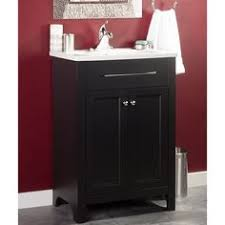 Foremost Bathroom Vanities foremost madison black integral bathroom vanity with vitreous
