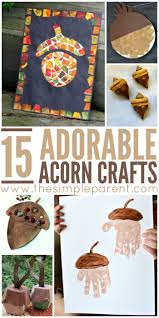 11 best acorn crafts and learning activities for home