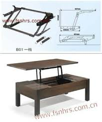lift up coffee table mechanism with spring assist lift up metal coffee table frame with spring assist b01 shop for