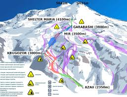 Cable Car Map Climb Mt Elbrus Independently Complete Itinerary Stingy Nomads