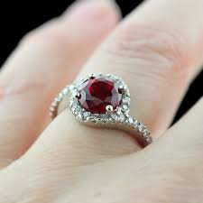 gemstone wedding rings ruby wedding rings rikof