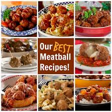 our best meatball recipes mrfood com