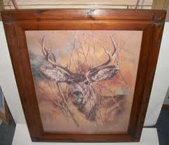 home interiors deer picture untitled