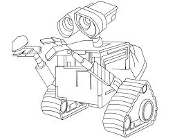 walle coloring pages pictures of wall e coloring home