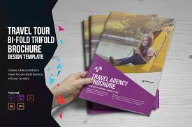 holiday travel brochure design brochure templates creative market