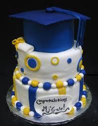high schools graduation cakes design colors to custom
