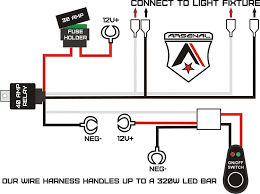 how to wire led light bar to high beam light bar diagram wiring diagram