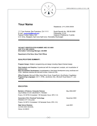 Example Of A Federal Resume by Download Federal Resume Service Haadyaooverbayresort Com