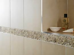 Tile Borders Epic Bathroom Tile Border Transform Designing Bathroom Inspiration