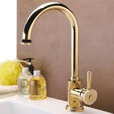 kitchen faucets free free shipping golden brass kitchen faucets swivel kitchen tap