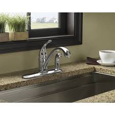 moen torrance kitchen faucet moen torrance chrome one handle kitchen faucet with side spray