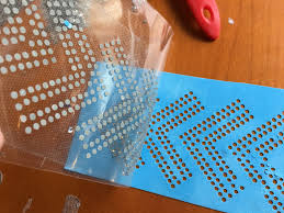 how to add silhouette cameo rhinestone designs to any surface