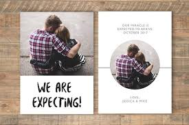 we re expecting card template card templates creative market