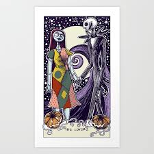 the nightmare before the tarot card color