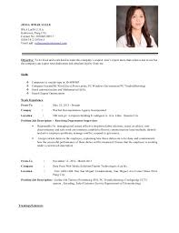 How To Present A Resume To Present A Resume