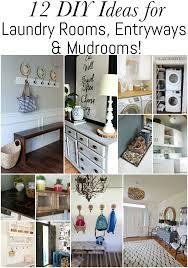 Laundry Room And Mudroom Design Ideas - 12 diy ideas for laundry rooms entryways u0026 mudrooms erin spain