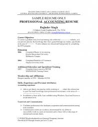 Cost Accounting Resume Examples Of Accounting Resumes Accounting Clerk Resume Sample