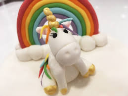 unicorn cake topper rainbow and unicorn cake toppers