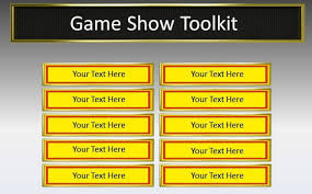 interactive games for presentations game show toolkit for