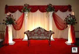 Beautiful Wedding Stage Decoration Simple Wedding Stage Decoration Casadebormela Com
