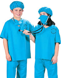 amazon com doctor scrubs deluxe kids costume toys u0026 games