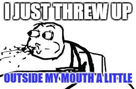 Spit Out Cereal Meme - cereal guy spitting memes imgflip