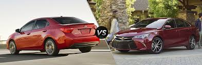 toyota yaris vs corolla comparison what s the difference between the toyota camry and toyota corolla