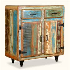 Rustic Painted Kitchen Cabinets by Retro Rustic Reclaimed Wood Furniture Standing Kitchen Cabinet