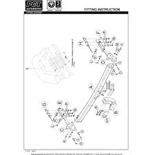 pct nn4360 nissan x trail 2007 2014 trident towing kent
