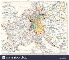 Karlsruhe Germany Map by Map Of Germany 19th Century Stock Photos U0026 Map Of Germany 19th