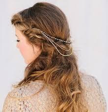 chain headpiece free falls chain headpiece lavendermoondesign