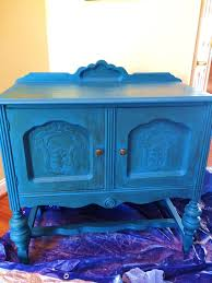 Blue Entryway Table by Diy Chalk Paint Entryway Table Makeover No Plate Like Home