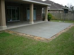 Concrete Patio Designs Layouts Furniture Concrete Patio Design Ideas Small Backyard