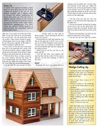 wooden dolls house plans