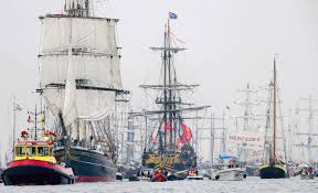 tall ships head to netherlands for sail amsterdam 2015