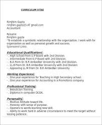 accountant resume format 26 accountant resume format