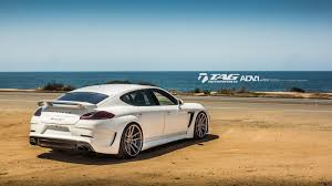 porsche panamera turbo 2017 white white techart grandgt looks devastatingly awesome on 22s