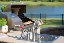 how to make a built in diy outdoor grill