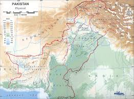 Definition Of Physical Map Indus Basin Pakistan