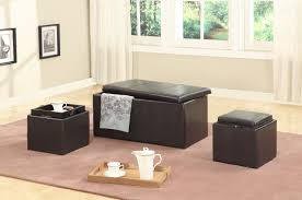 Extra Large Storage Ottoman by Roundhill Furniture