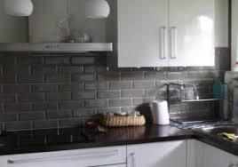 cuisine noir et gris deco salon noir et blanc trendy idee de decoration id con