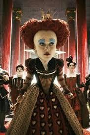 red queen tim burton u0027s alice wonderland maquillaje