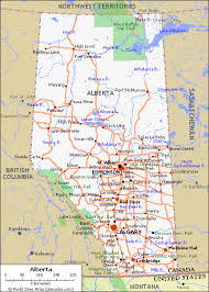 map of canada by province map of roads of alberta maps of canada provinces and territories