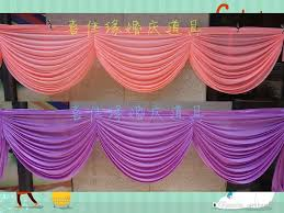 valance decorate swags of backdrop party curtain tableapron swags