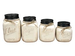 mason jar light fixture contemporary kitchen canisters and jars